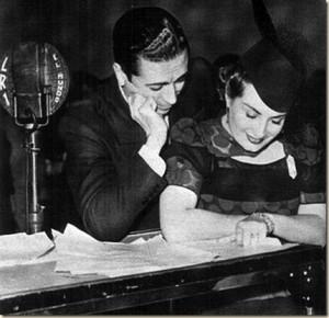 Nini Marshall and John Carlos Thorry on Radio El Mundo
