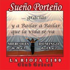 27 Dicembre: Sueño Porteño – Club Griciel – Buenos Aires