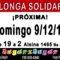 Domenica 9 dicembre Milonga Solidaria JugarxJugar c/o La Nacional Milonga