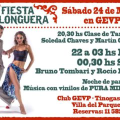 24 March Festival Milonguero in Club G.E.V.P..
