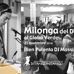 "25 November PISA ""THE GREEN GLOBE MILONGA"""