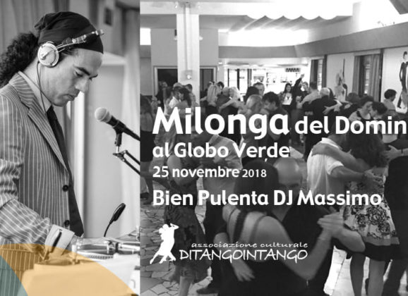 "25 Novembre PISA ""LA MILONGA DEL GLOBO VERDE"""