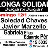 Sun 12 Milonga gennaio Solidarity JugarxJugar c / o The National Milonga