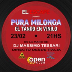 "Sat 23 February Milonga ""El Escape"", Paranà – Entre Rios."