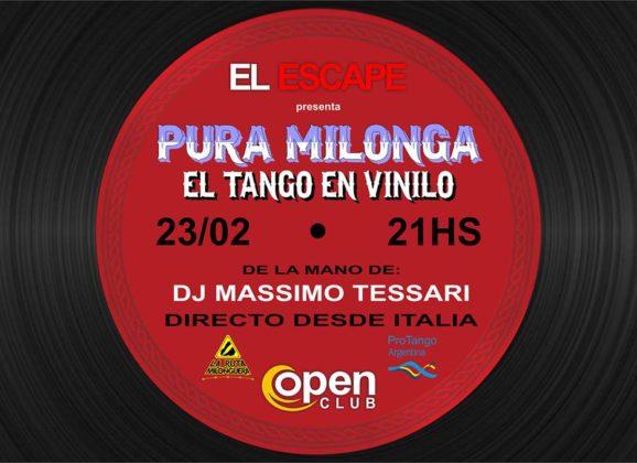 "Sat 23 February Milonga ""El Escape"", Paranà – Entre Rios."