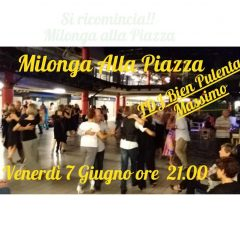Friday 7 June Milonga Square