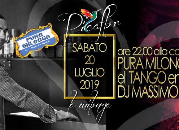 """Pura Milonga """"El tango en Vinilo """" al Sabato del Picaflor"""