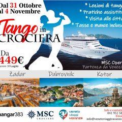 Tango in Crociera dal 31 Ottobre al 4 Novembre