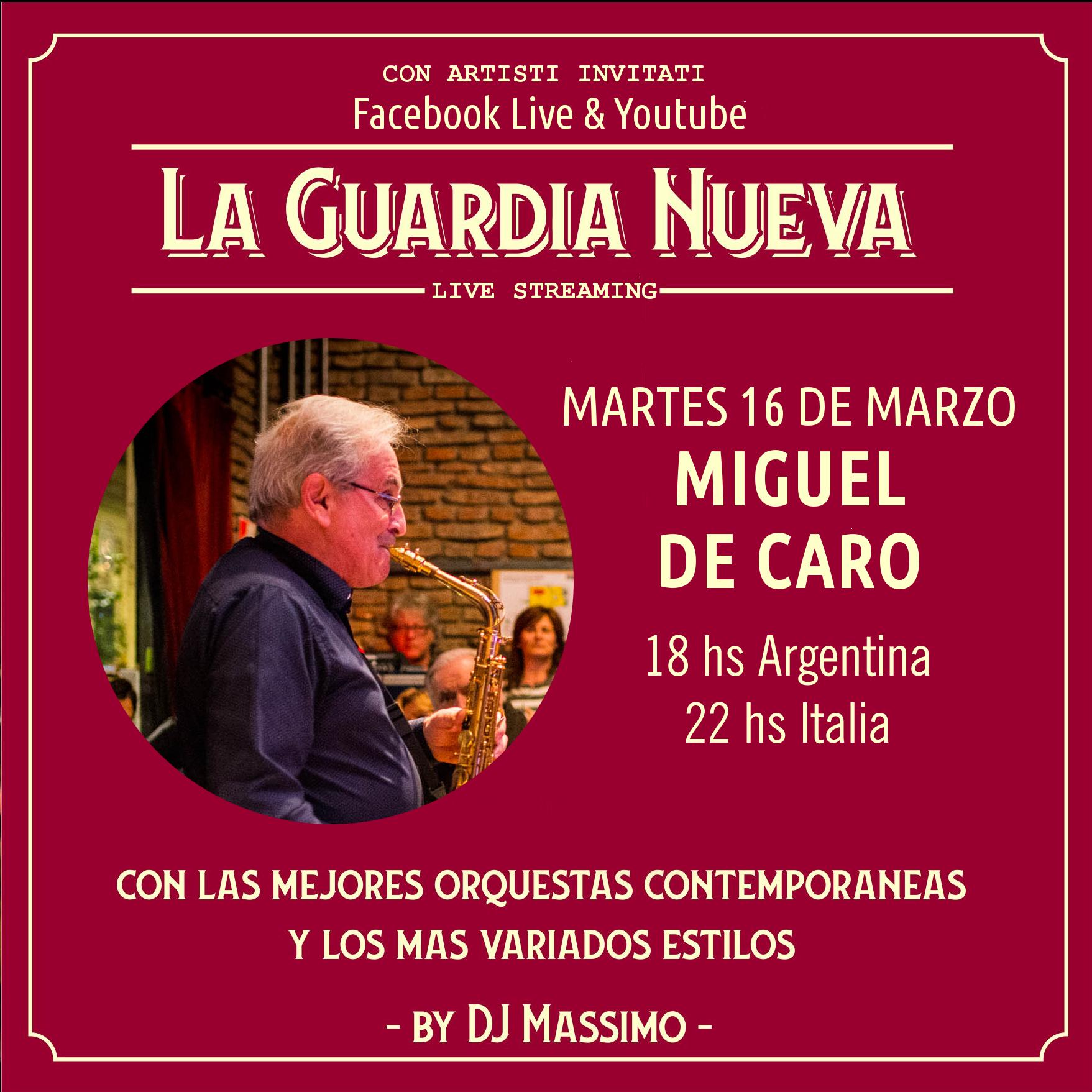 la guardia nueva tango del siglo xxi 16 MARZO