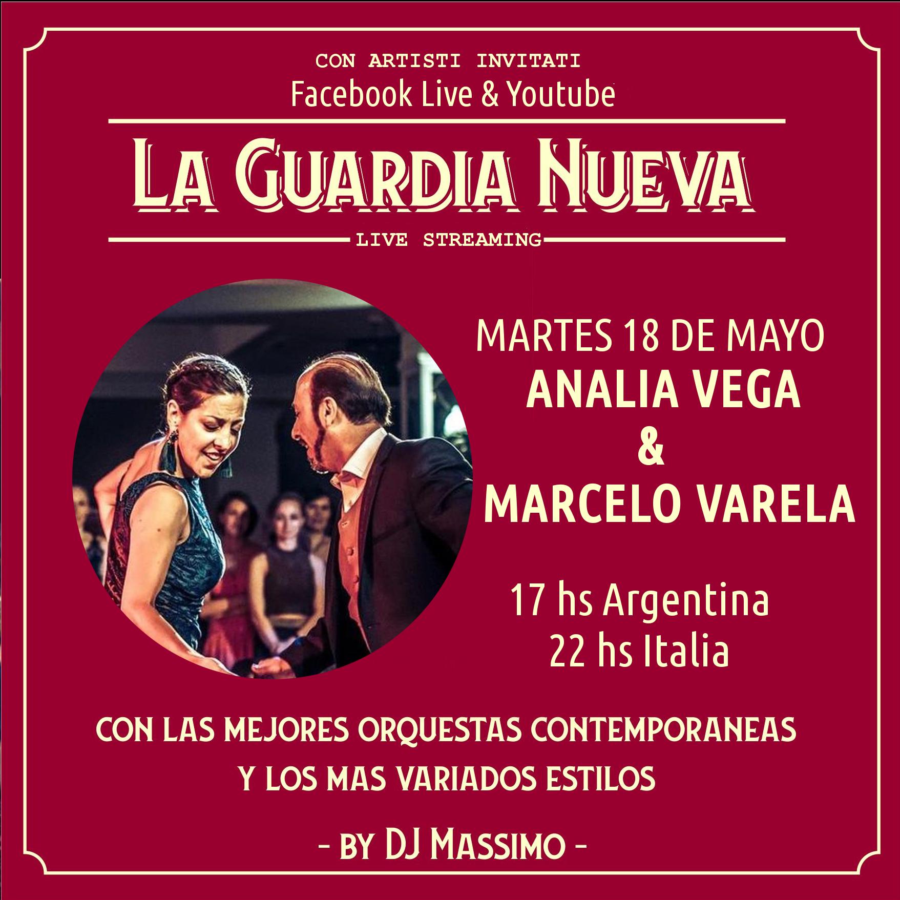 la guardia nueva tango del siglo xxi MARTES 18 DE MAYO