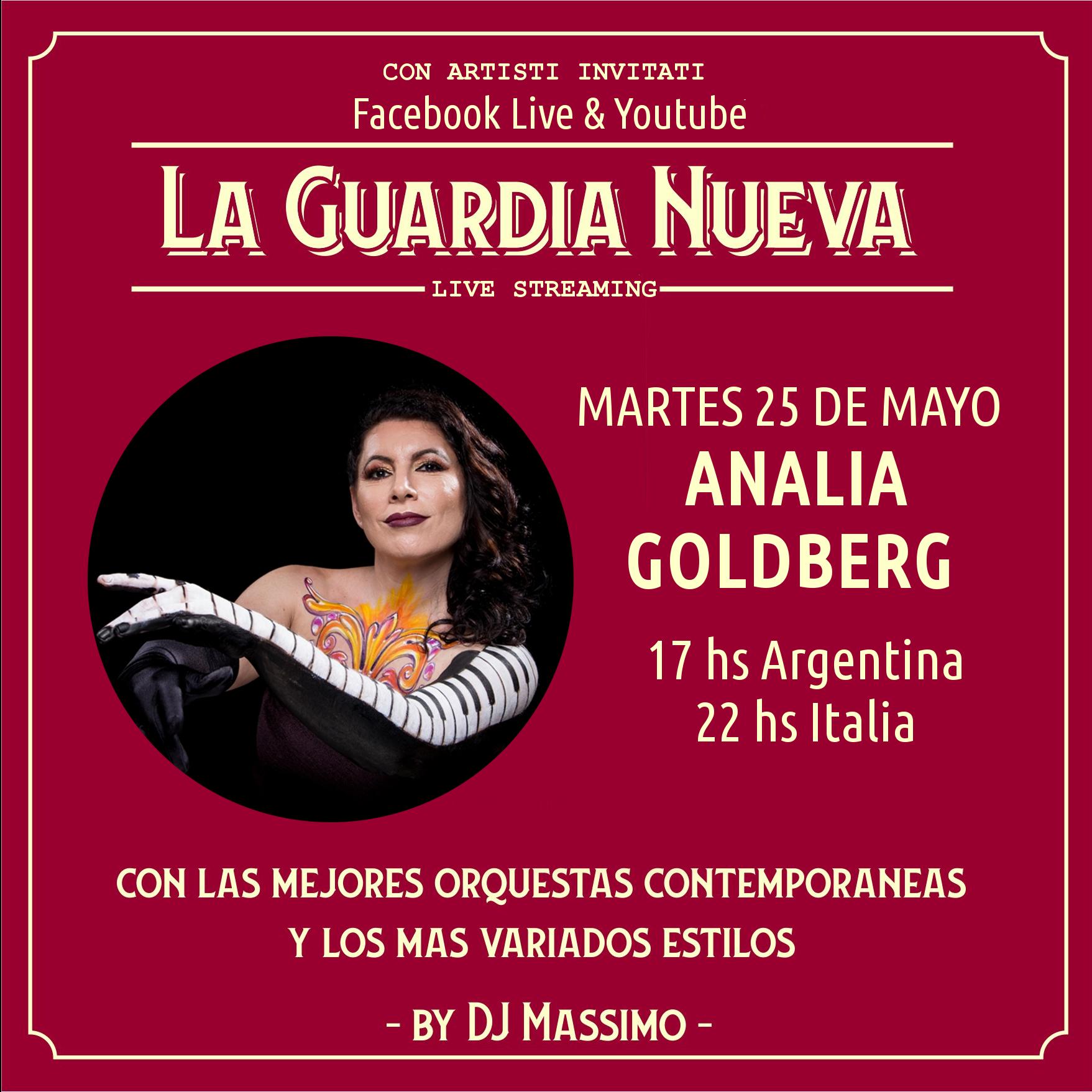 la guardia nueva tango del siglo xxi MARTES 25 DE MAYO