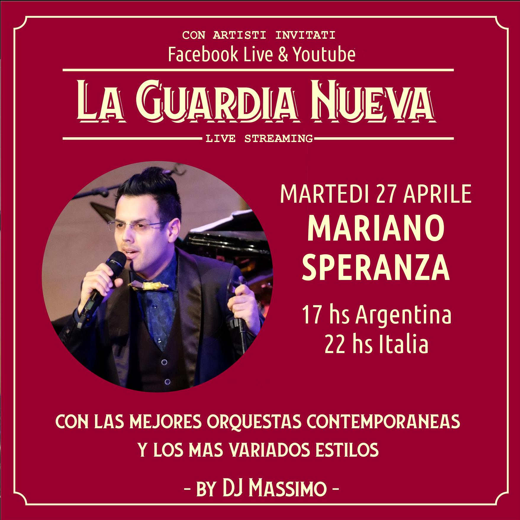 la guardia nueva tango del siglo xxi Martes 27 Abril